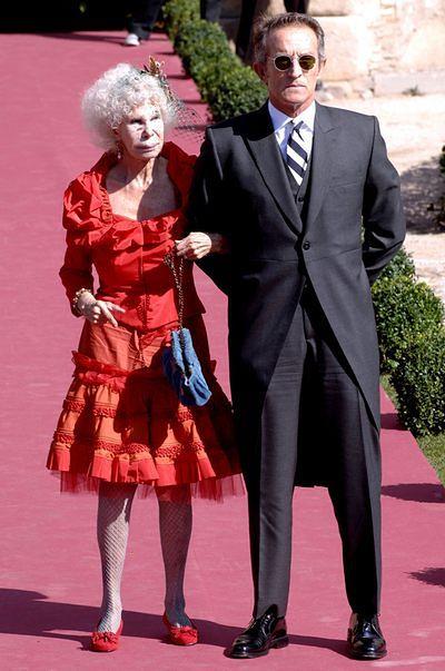 Księżna Alby Maria i Alfonso Diez