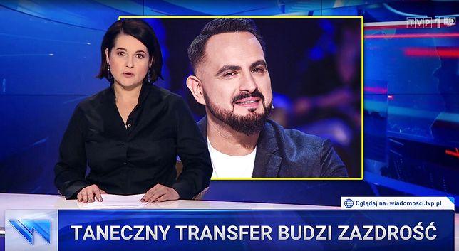 """W materiale """"Taneczny transfer budzi zazdrość"""" TVP zabrało głos ws. udziału Agustina Egurroli w show Telewizji Polskiej"""