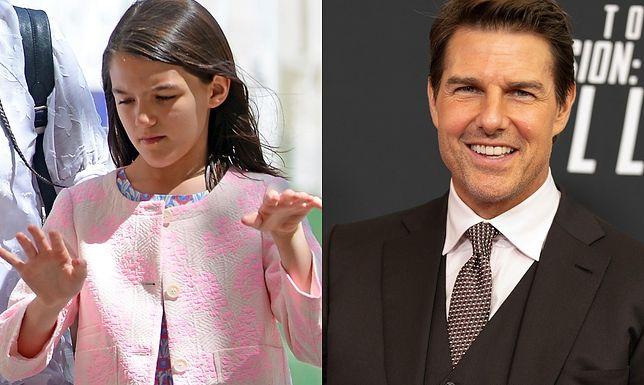 Suri Holmes i Tom Cruise