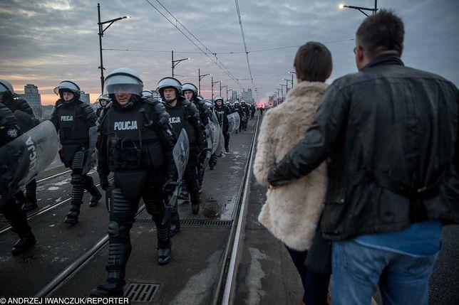 W ostatnich latach największe zamieszki podczas Marszu Niepodległości miały miejsce w 2014 roku