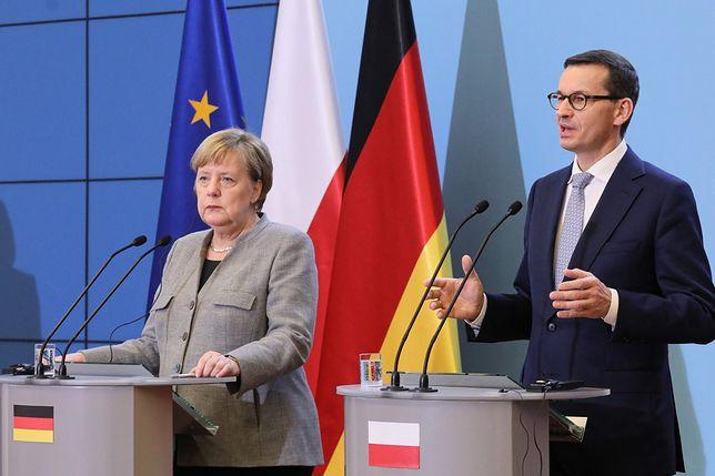Merkel i Morawiecki podsumowali konsultacje międzyrządowe.
