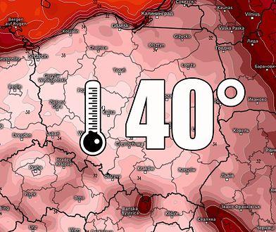 Pogoda na lipiec. Upał powraca. Wraz z nim kolejne klęski: susza na polach, sinice w Bałtyku.