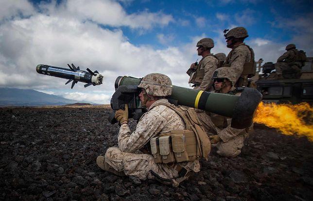 Pociski przeciwpancerne Javelin - na taką broń liczą Ukraińcy