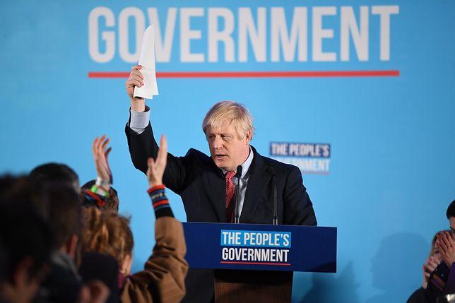 Wielka Brytania. Szef Partii Konserwatywnej Boris Johnson