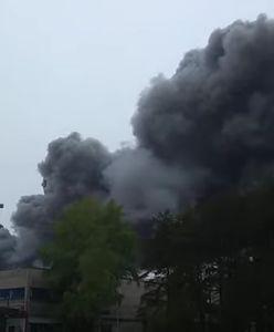 Pożar elektrowni w Bełchatowie. Strażacy walczą na miejscu