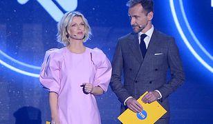 Magda Mołek żartuje z Kingi Rusin. Wymijająca reakcja Piotra Kraśki