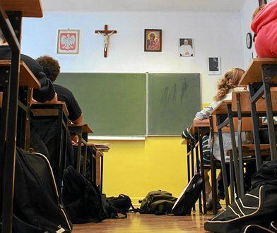 Katecheta pracuje w jednej ze szkół podstawowych w Goleniowie