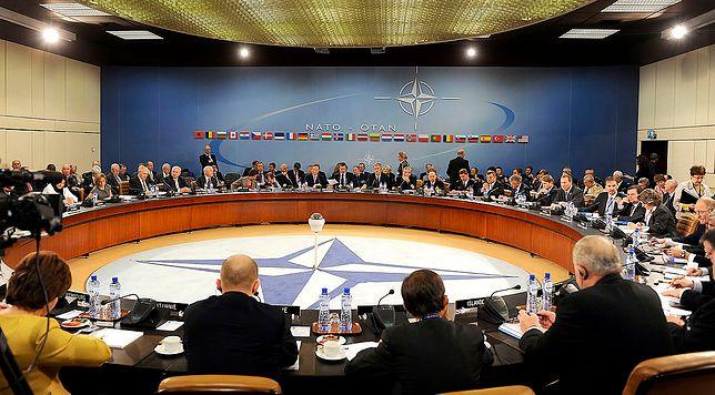 Spotkanie NATO w Brukseli