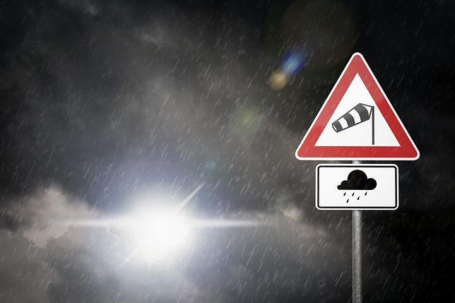 IMiGW ostrzega mieszkańców Pomorza Zachodniego i województwa Pomorskiego przed silnym wiatrem
