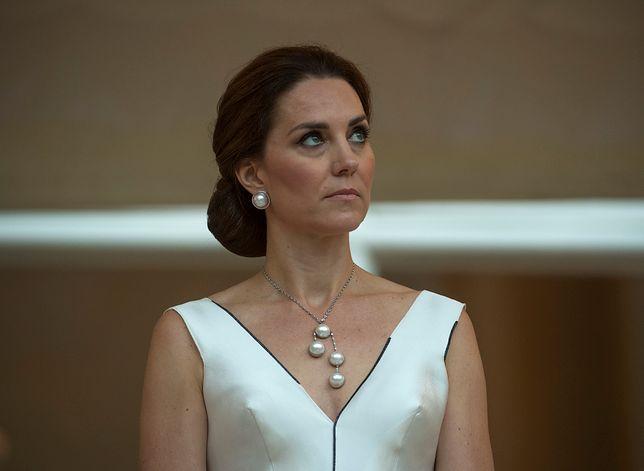 Gosia Baczyńska przerobiła suknię księżnej Kate. Teraz kreacja jest bardziej sexy