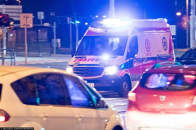 Wrocław. Wypadek w centrum