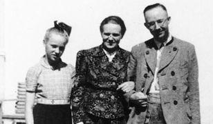 Heinrich Himmler z żoną i córką przed wybuchem II wojny światowej