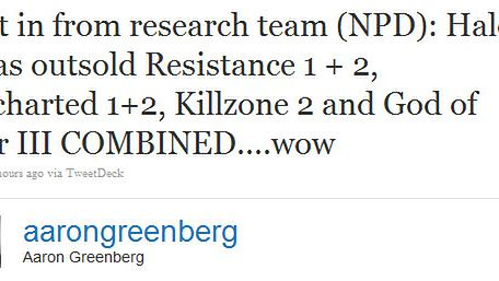 Greenberg dolewa oliwy do ognia: Halo 3 sprzedało się lepiej niż tytuły Sony