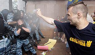Starcia opozycji z milicją