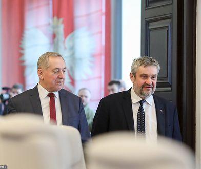 Henryk Kowalczyk i Jan Krzysztof Ardanowski