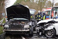 Tragedia pod Kluczborkiem. Wypadek na DK45