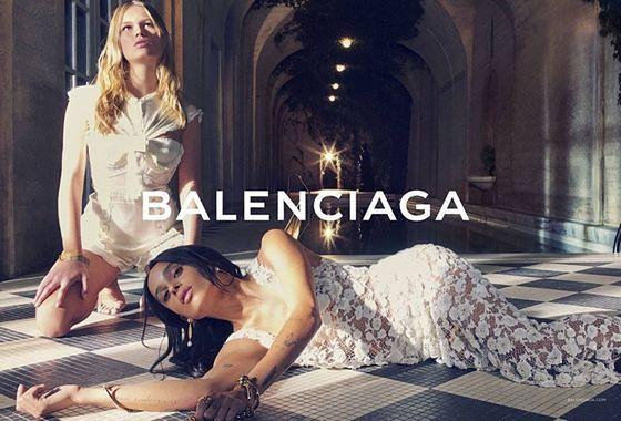 Balenciaga - kampania wiosna lato 2016