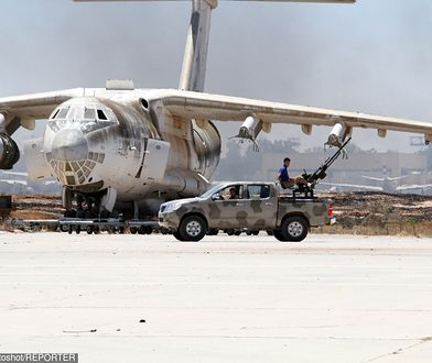 Atak na lotnisko w Libii. Ranni w Trypolisie