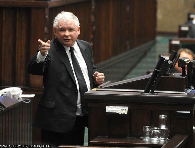 """Jarosław Kaczyński mówił o """"zdradzieckich mordach"""". Nie przyszedł na komisję etyki"""