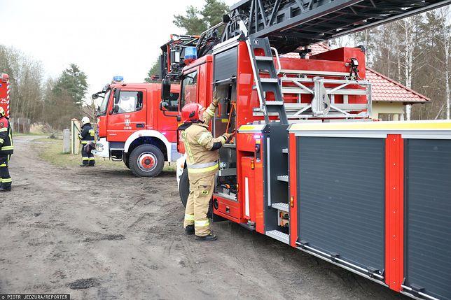 Interwencja straży pożarnej (zdjęcie ilustracyjne)