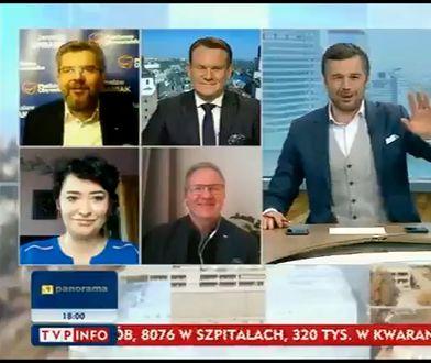 Woronicza 17. Kadr z programu TVP Info