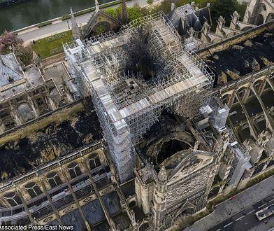 Na czas odbudowy katedry Notre Dame na jej dziedzińcu może stanąć drewniany, tymczasowy kościół