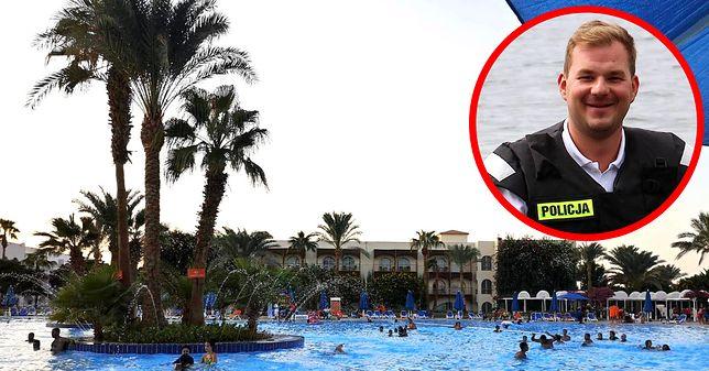 Egipt. Policjant z Poznania podczas wakacji uratował tonącą dziewczynkę