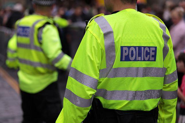Londyn: ewakuacja ulicy w dzielnicy finansowej