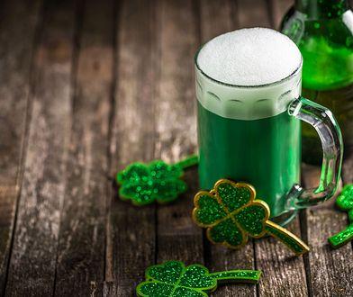 Zielone piwo to część irlandzkiej tradycji
