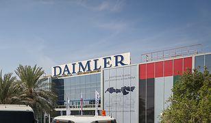 Policja przeprowadziła rewizje w prywatnych mieszkaniach pracowników Daimlera