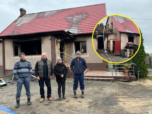 Pożar w Jabłówku