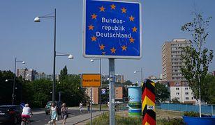 Granica polsko niemiecka (zdjęcie poglądowe)