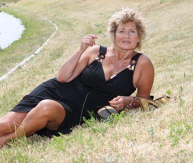 Ewa Kasprzyk kąpała się w rzece. Filmik obiegł sieć