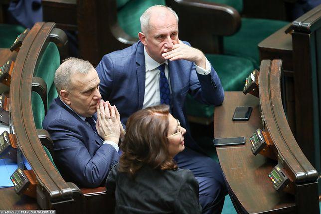 Małgorzata Kidawa-Błońska, Grzegorz Schetyna i Slawomir Neumann
