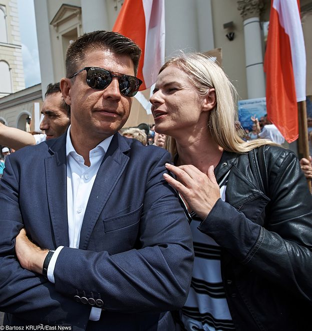 Ryszard Petru i Joanna Mihułka.