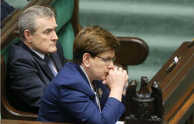 Beata Szydło i Piotr Gliński