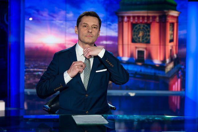Krzysztof Ziemiec pokazał przez przypadek wskazanie prędkościomierza w aucie