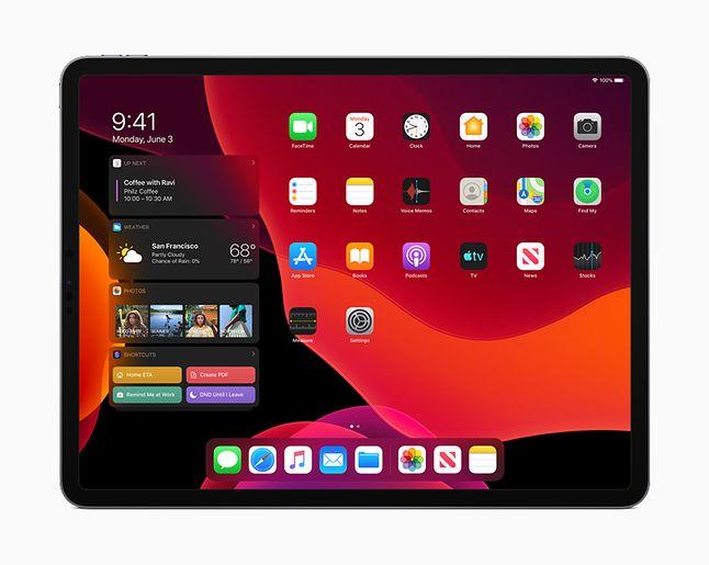 iPadOS – ciemny motyw na iPadzie