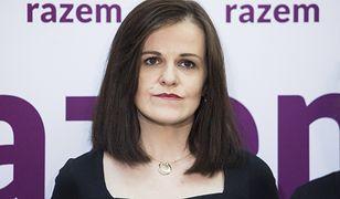 Dorota Olko to rzeczniczka prasowa partii Razem