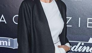 Anita Sokołowska na pokazie Macieja Zienia