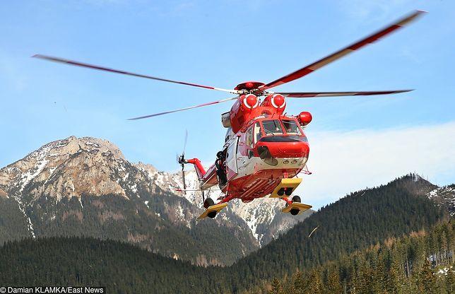 Tatry. Dramatyczna akcja ratunkowa. Turyści wezwali TOPR