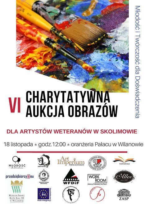 Charytatywna aukcja obrazów - Młodość i Twórczość dla Doświadczenia