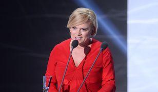 Katarzyna Figura na gali zakończenia Festiwalu Filmowego w Gdyni, 2016 r.