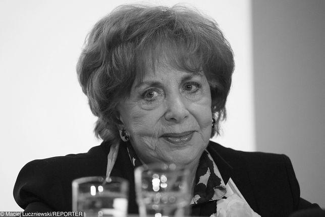 Zofia Czerwińska odeszła kilka dni przed 86. urodzinami