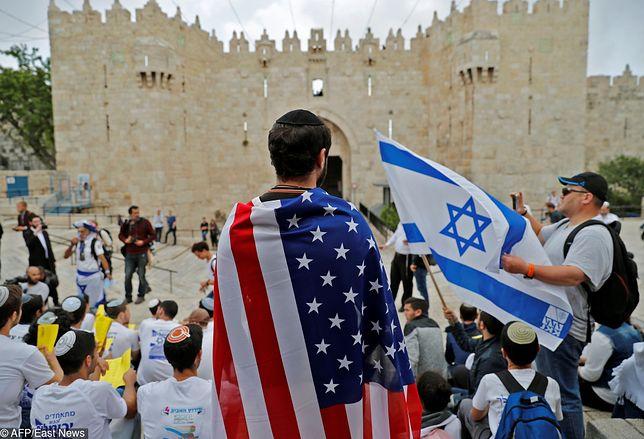 Izraelczycy świętują przeniesienie ambasady USA do Jerozolimy