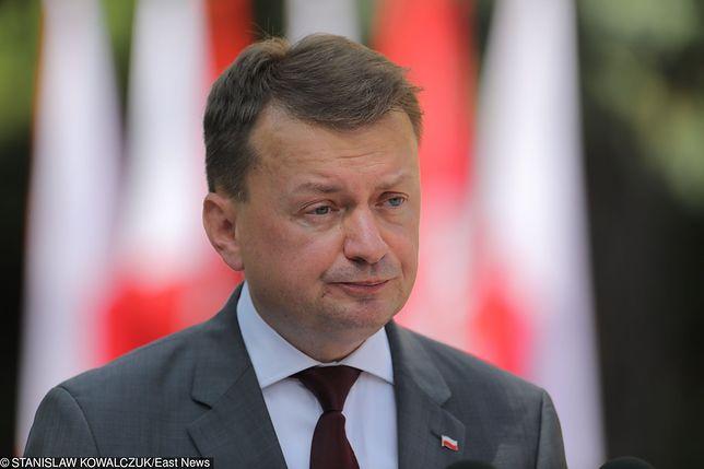 Szef MON Mariusz Błaszczak