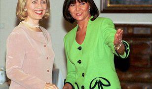 Wizyta Hilary Clinton w Warszawie w 1996 roku
