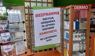 Apteka dla aptekarza, nie dla pacjentów. Nawet tysiąc aptek do zamknięcia