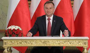 Polacy ocenili 3 lata prezydentury Andrzeja Dudy