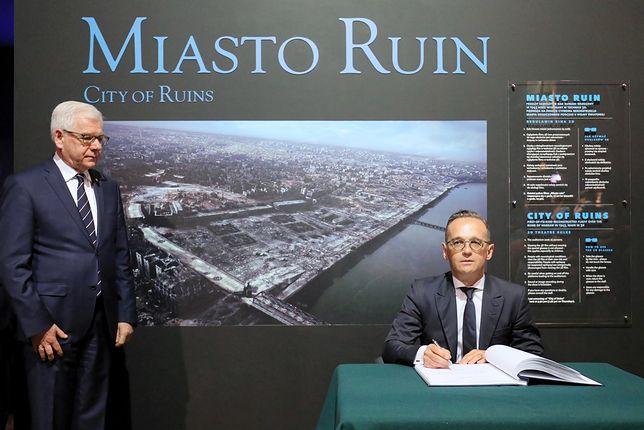 Szef MSZ Niemiec Heiko Maas przebywa z wizytą w Warszawie